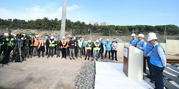 Gebze-Halkalı Banliyo hattı 2018 Eylül'de tamamlanıyor