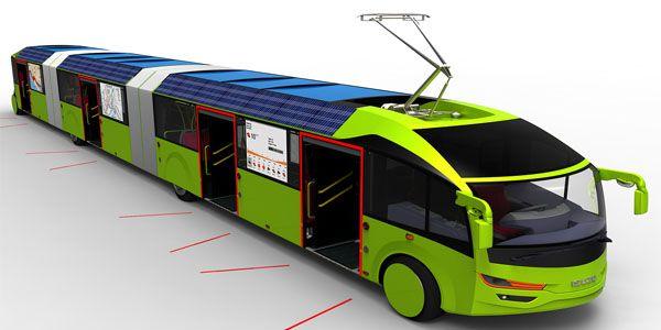 Geleceğin toplu taşıma aracı
