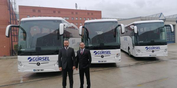 Gelecek Otomotiv'den Gürsel Turizm'e 3 Tourismo