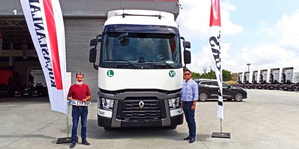 Gelişim Lojistik'in tercihi yine Renault Trucks oldu