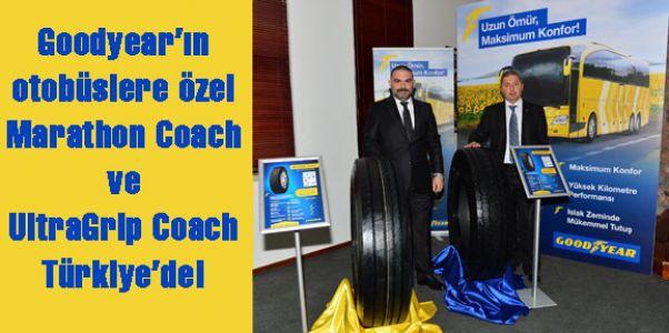Goodyear'ın otobüslere özel Marathon Coach ve UltraGrip Coach lastikleri Türkiye'de!