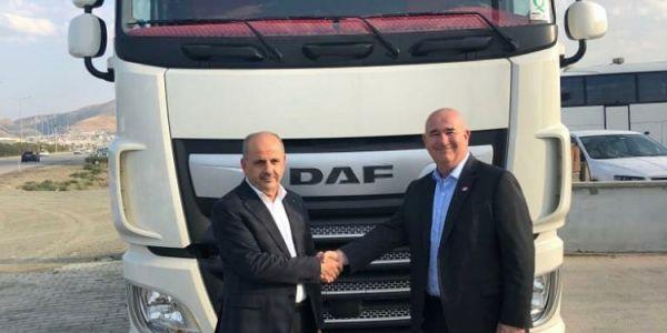 Gulsan Taşımacılık 4 adet yeni DAF XF 480 aldı
