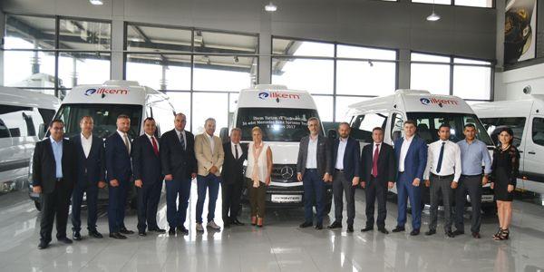 Gülsoy Otomotiv'den İlkem Turizm'e 36 Sprinter