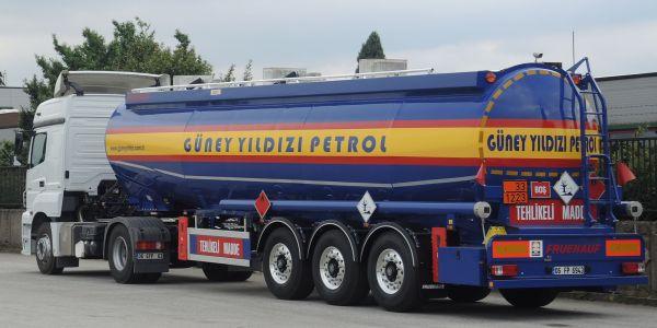 Güney Yıldızı Petrol'e 5 Otokar tanker semi-treyler