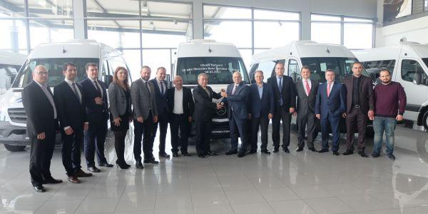 GÜR-SEL Turizm 50 Sprinter yatırımı yaptı