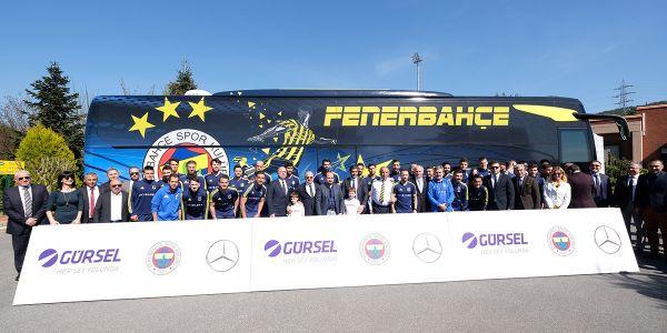 Gürsel Turizm Fenerbahçe'yi Tourismo 15 RHD ile taşıyacak