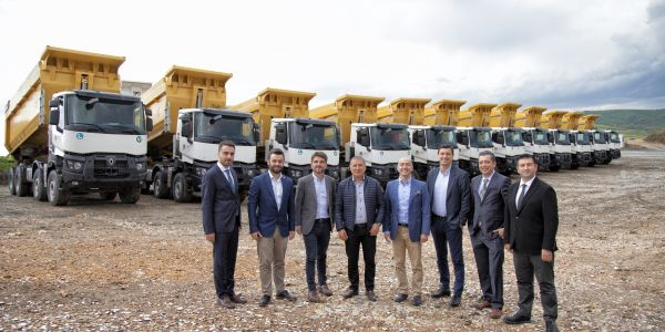 Güvensoy İnşaat 15 kamyon aldı
