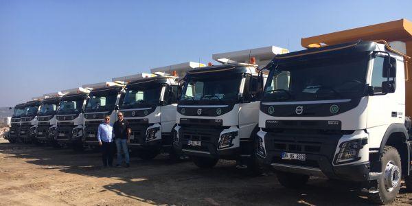 Güvensoy İnşaat Volvo Trucks'ı tercih etti