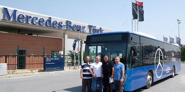 Halk otobüs şoförlerine ekonomik sürüş eğitimleri