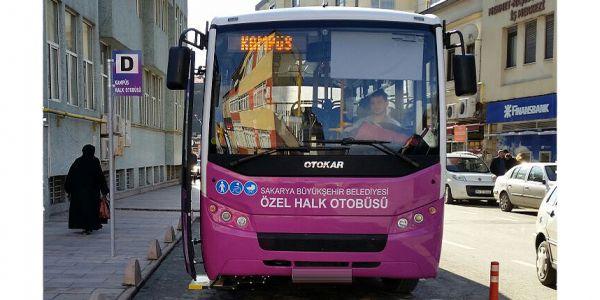 Halk otobüsçüsüne 975 bin TL destek