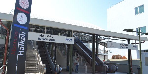 Halkalı Tren İstasyonu'nda otopark ve ulaşım sorunu
