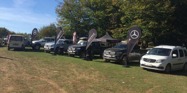 Hasmer Otomotiv Pick-Up Festivali'nde X-Class'ı tanıttı