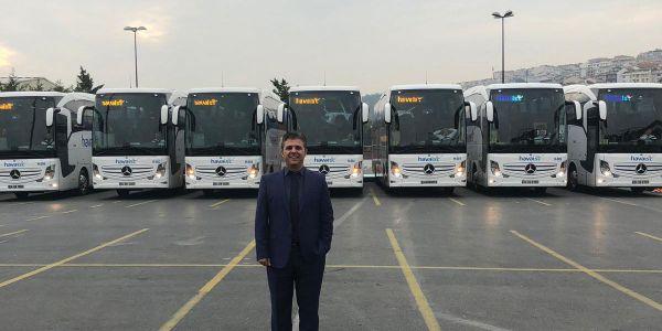 HAVAİST'in otobüsleri Artvin Ses Seyahat'ten