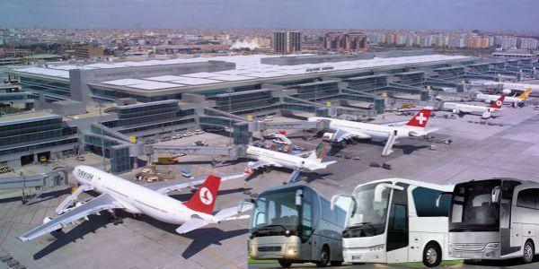 Havalimanı yolcu taşımalarına çözümler