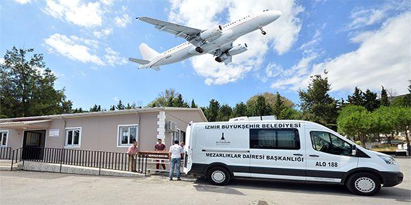 Havayolu ile ücretsiz cenaze taşıma hizmeti