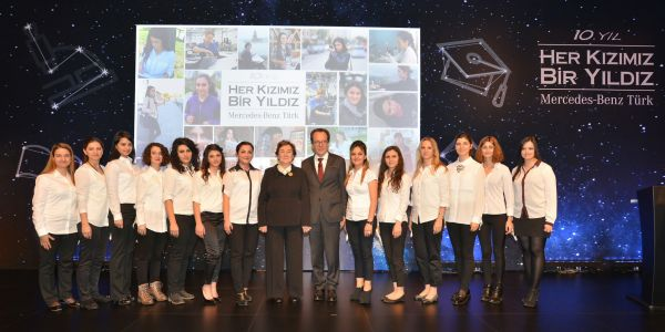 Mercedes'in Yıldız Kızları