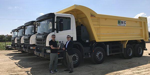 Hmc yapı, yeni projelerinde Scania'yı tercih etti