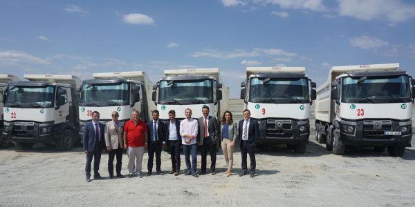İbrice Maden İşletmeleri'nin kamyon yatırımı