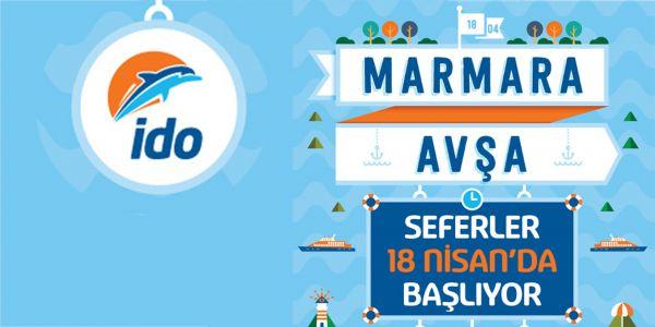 İDO, Avşa ve Maramara Adası seferleri başlıyor