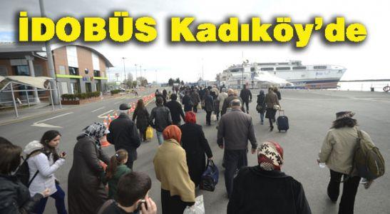 İDOBÜS Anadolu Yakası'nda