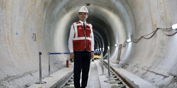 İkitelli-Ataköy Metro Hattı 2022'de hizmete giriyor