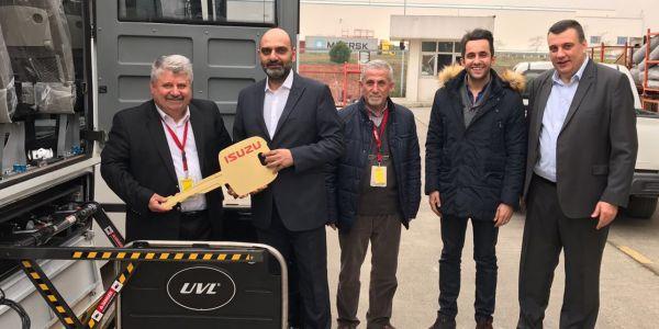 İlk Liftli Isuzu Turkuaz Ankara Nallıhan Kooperatifi'ne