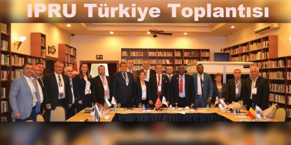 IPRU Türkiye Toplantısı Comvex'te yapıldı Somali de IPRU'ya katıldı