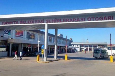 Isparta Otogarı'nda da çıkış ücreti yüzde 50 düştü