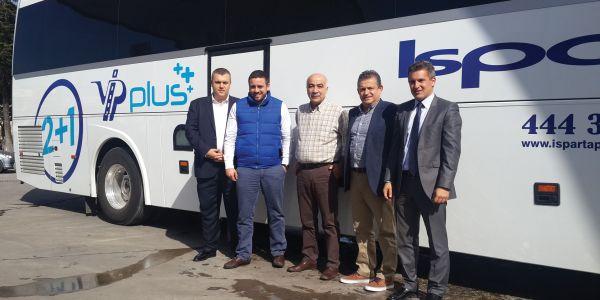 Isparta Petrol, Meltem Turizm, Coha Turizm'in temsa Otobüs yatırımları