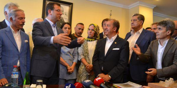 İstanbul Otogarı Esnaflar Derneği İmamoğlu'na rapor sundu