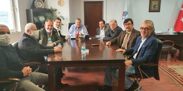 İstanbul Otogarı kiraları ve sorunlar görüşüldü