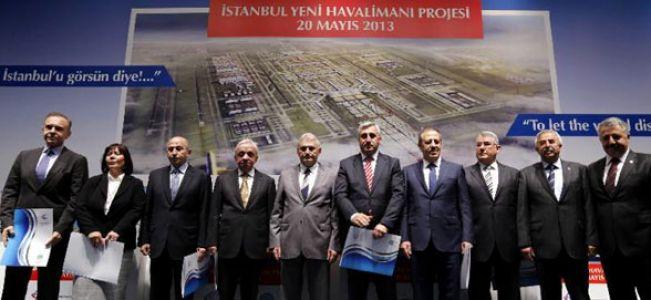 İstanbul Yeni Havalimanının Sözleşmesi imzalandı