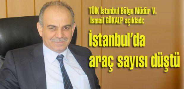 İstanbul'da araç sayısı düştü