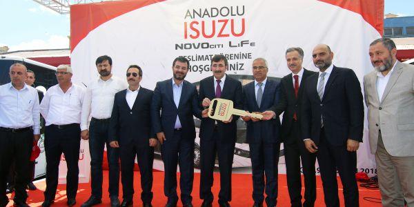 Isuzu Novociti Life dev siparişler alıyor