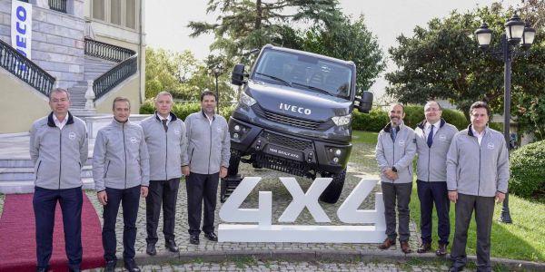 IVECO 4x4 Daily araçlarını tanıttı