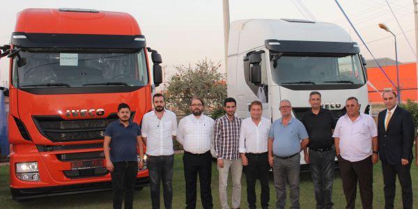 IVECO Gaziantep 4 firmaya 13 çekici verdi