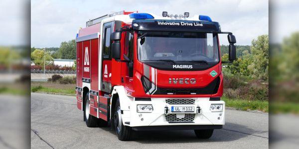 IVECO Magirus, gazla çalışan yangın söndürme aracı