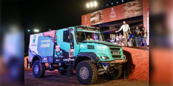 IVECO Takımı, dört kamyonu ile Dakar 2019 Rallisinde