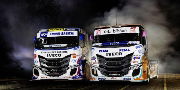 Yeni IVECO S-WAY Yarış Kamyonları