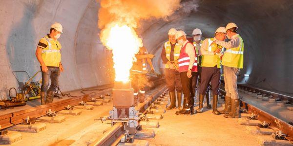 İzmir metrosu adım adım Narlıdere'ye ilerliyor