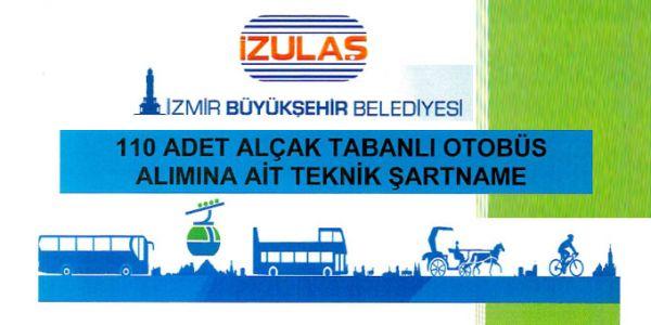 İZULAŞ'tan 110 otobüslük ihale