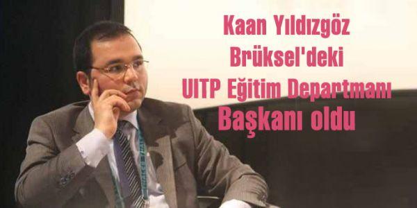 Kaan Yıldızgöz UITP Eğitim Departmanı Başkanı oldu