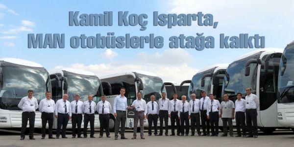 Kamil Koç Isparta, MAN otobüslerle atağa kalktı