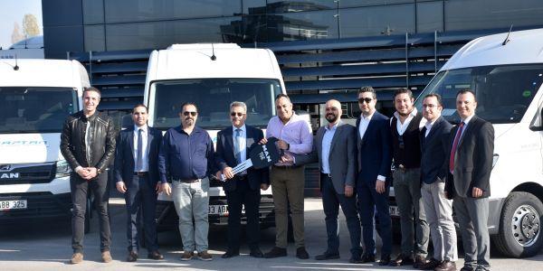 Kaptan Taşımacılık, 8 MAN TGE minibüs aldı