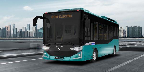 Karsan Elektrikli Otobüsleri Fransa RNTP Fuarı'nda