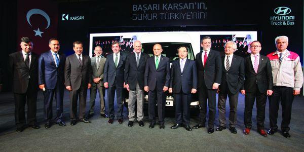 Karsan ve Hyundai H350 seri üretimine başladı