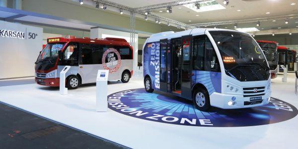 Karsan'dan Almanya'da Elektrikli Minibüsü' tanıttı