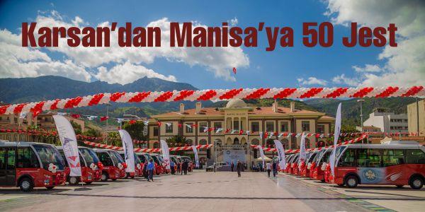 Karsan'dan Manisa'ya 50 Jest