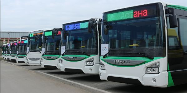 Kazakistan 210 adet IVECO BUS Urbanway alıyor