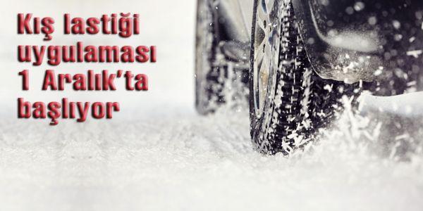 Kış geliyor kış lastiğiniz hazır mı?